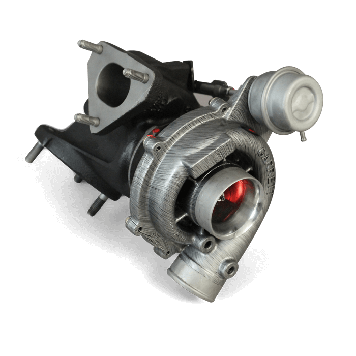 Td5 hybrid turbocharger