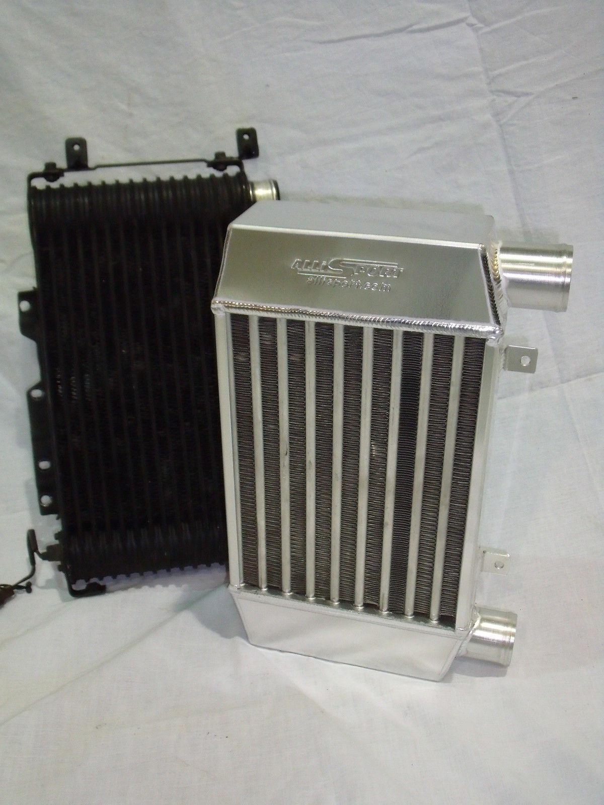 Mitsubishi L200 and Pajero 2 5 uprated intercooler (without fan switch  mount)