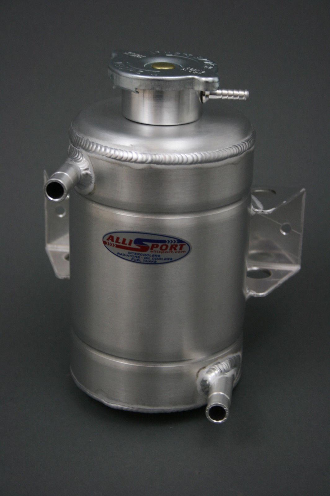 Universal header tank swirl pot - AlliSport