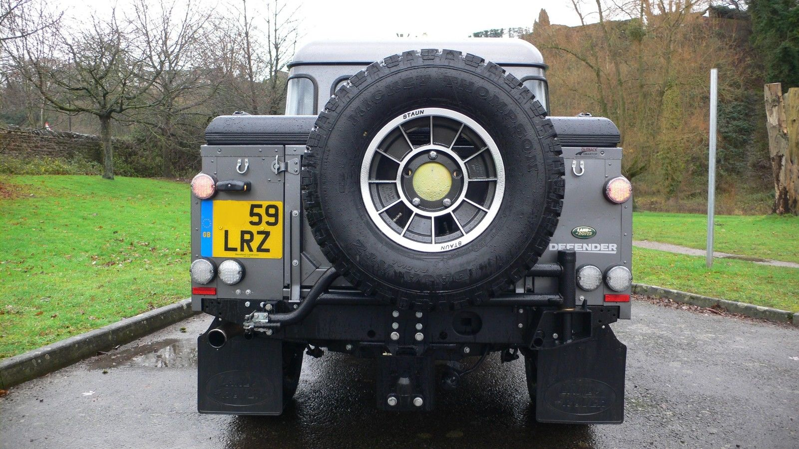 Land Rover Defender Spare Wheel Carrier Allisport