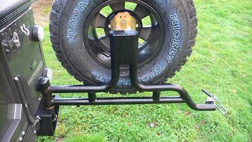 Land Rover Defender Spare Wheel Carrier Allisport